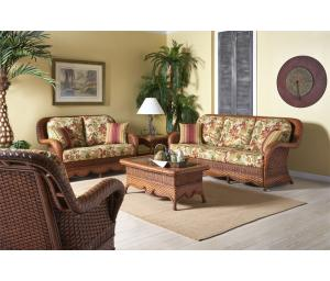 Autumn Morning Rattan Framed Natural Wicker Furniture Sets