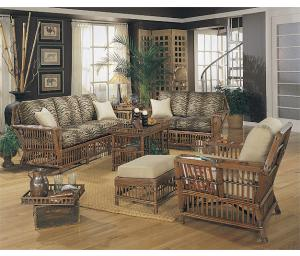 Capistrano Natural Rattan Furniture Sets,White or Brown (Custom Painting Available)