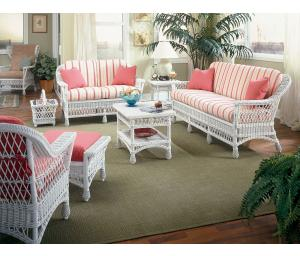 Columbia Rattan Framed Wicker Furniture Sets (Custom Painting Available)