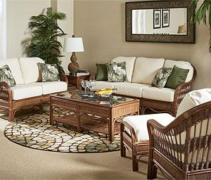 Indoor Natural Wicker Rattan Furniture Sets