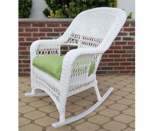 White Resin Wicker Furniture