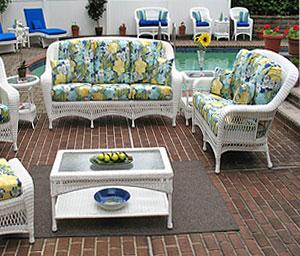 Full Size Wicker Patio Furniture