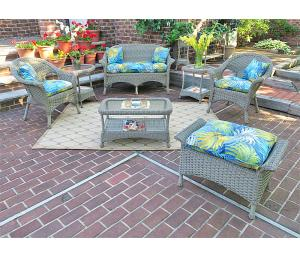 Driftwood Veranda Outdoor Wicker Patio Furniture