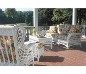 Old Nassau Rattan Framed Wicker Furniture Sets (Custom Finishes Available)