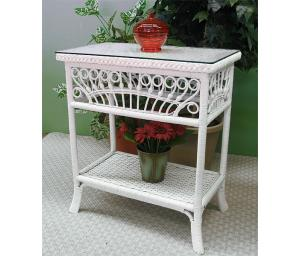 Wicker Console or Foyer Tables