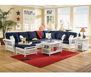 Capistrano Rattan Modular Sectional Sets (Custom Painting Available)