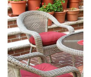 Resin Wicker Dining Chairs