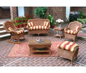TeaWash Naples Wicker Seating