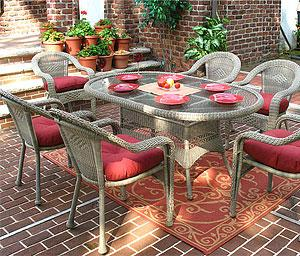 Resin Wicker Patio Dining Sets, All of them