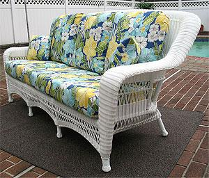 Outdoor Resin Wicker Sofas
