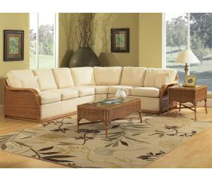 Bodega Bay Indoor Natural Rattan Sectional Sets