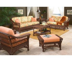 Sea Harbor Rattan Framed Natural Wicker Furniture Sets (Custom Paiting Available)