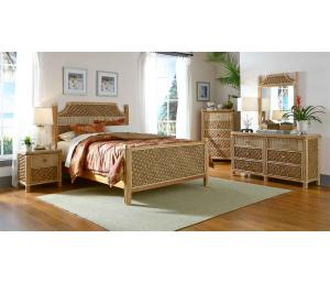Natural Nassau Rattan Bedroom Sets