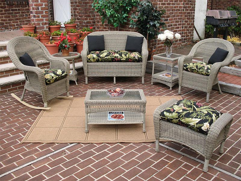 Driftwood Malibu Outdoor Wicker Patio Furniture