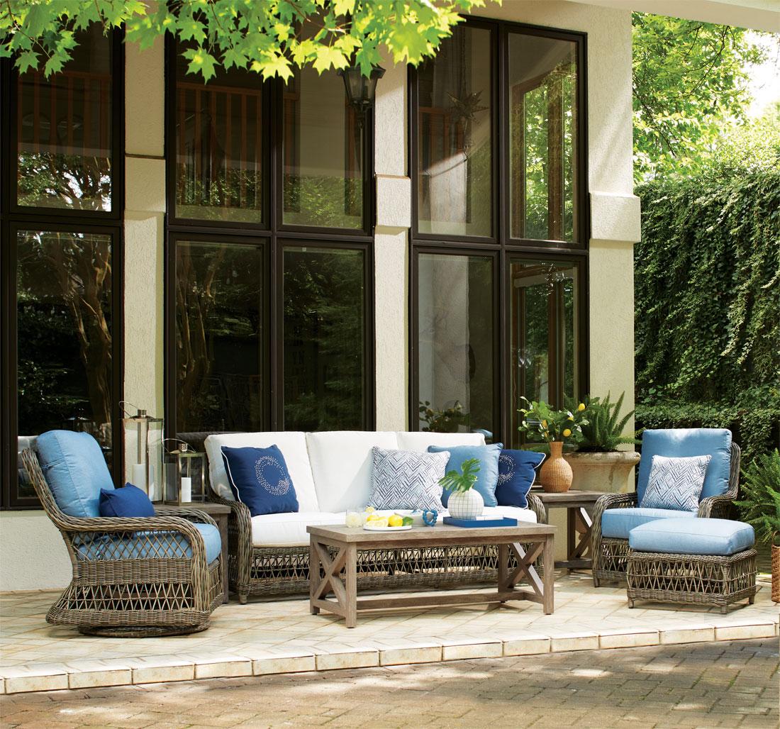 Lane Venture Mystic Harbor Resin Wicker Furniture