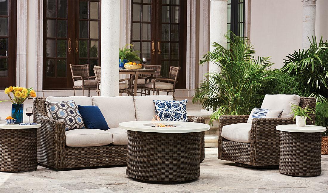 Lane Venture Oasis Resin Wicker Furniture