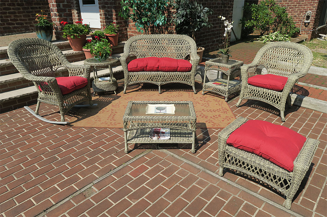 Driftwood Madrid Outdoor Wicker Patio Furniture