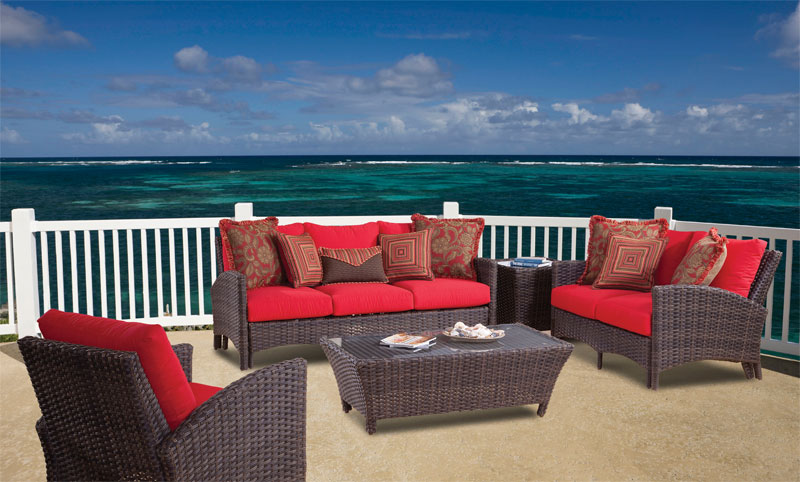 San Remo All Weather Resin Wicker Furniture Sets