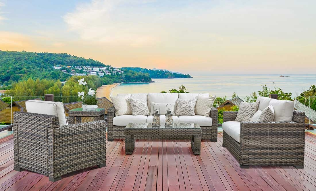 Biscayne Bay All Weather Resin Wicker  Furniture Sets
