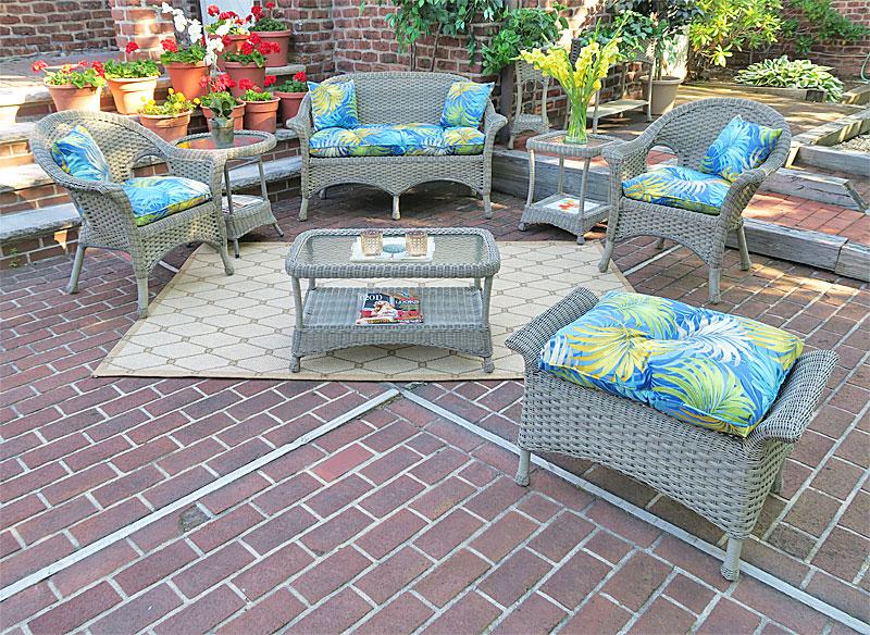 Driftwood Veranda Outdoor Wicker Patio Furniture