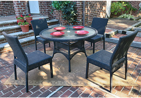 Indoor Wicker Dining Sets