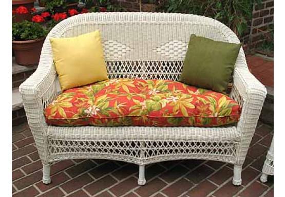 Belair Replacement Loveseat Cushion, Loveseat Cushion Outdoor