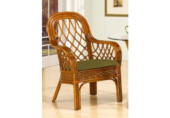 Rattan Dining Arm Chair Coconut Beach ( Min 2)  $389 Each - MAHOGANY
