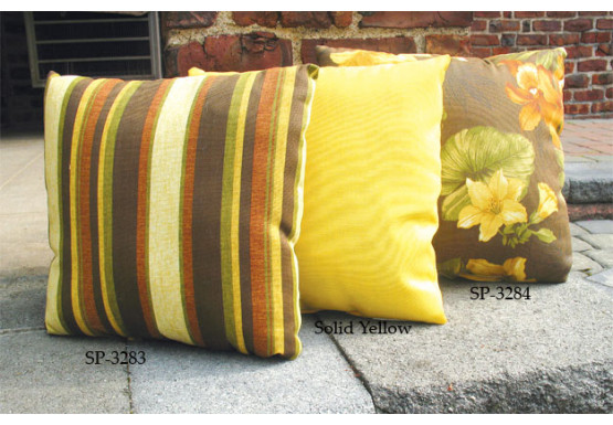 Set of (2)- 12 Indoor/Outdoor Throw Pillows - Set of (2)- 12 Indoor/Outdoor Throw Pillows