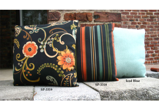"Set of (2)- 15"" Indoor/Outdoor Throw Pillows - Set of (2)- 15"" Indoor/Outdoor Throw Pillows"
