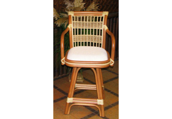 Awesome Fiji Rattan Framed Natural Wicker Counter Stool Gmtry Best Dining Table And Chair Ideas Images Gmtryco