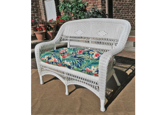 Groovy Belair Resin Wicker Loveseat Cjindustries Chair Design For Home Cjindustriesco