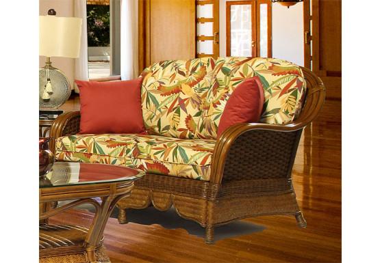 Casa Blanca Rattan Love Seat, Casa Blanca Furniture