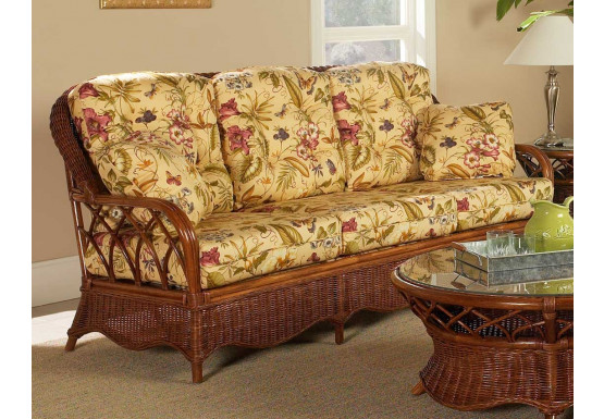 Eastwind Natural Rattan Sofa (Custom Finishes Available) - Eastwind Natural Rattan Sofa (Custom Finishes Available)