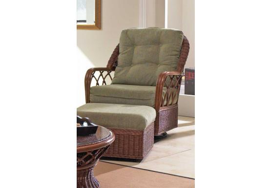 Eastwind Natural Rattan Glider Chair (Custom Finishes Available) - Eastwind Natural Rattan Glider Chair (Custom Finishes Available)