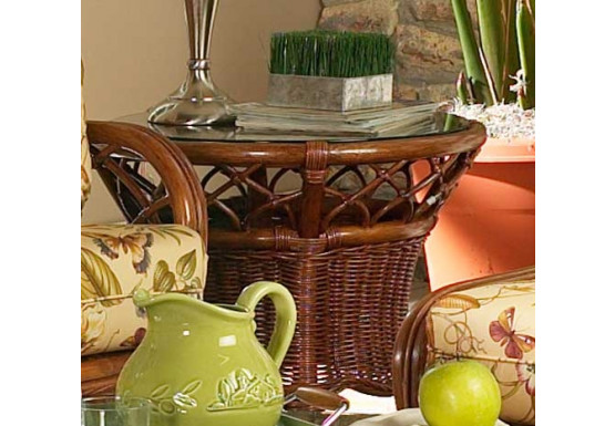 East Wind Rattan End Table (Custom Finishes) - East Wind Rattan End Table (Custom Finishes)