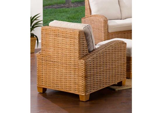 Millennial Natural Rattan Lounge Chair (Custom Finishes Available) - Millennial Natural Rattan Lounge Chair (Custom Finishes Available)