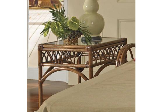 Orchard Park Rectangular Rattan End Table (Custom Finishes) - Orchard Park Rectangular Rattan End Table (Custom Finishes)