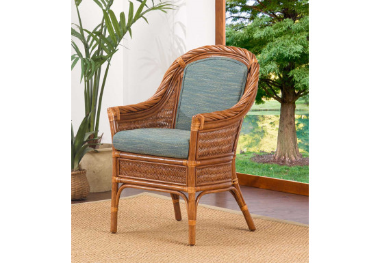 South Shore Natural Rattan Dining & Accent Chair (Custom Finishes Available) - South Shore Natural Rattan Dining & Accent Chair (Custom Finishes Available)