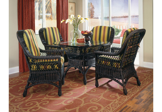 Columbia Wicker Dining Set - Columbia Wicker Dining Set