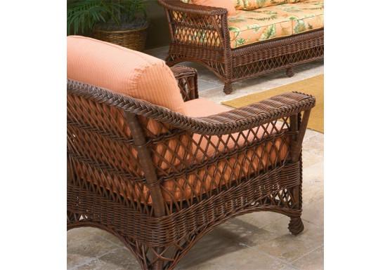 Sea Harbor Natural Wicker Lounge Chair - Sea Harbor Natural Wicker Lounge Chair