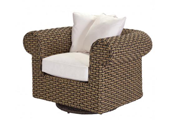 Lane Venture Hemingway Chesterfield Swivel Glider Chair with Cushions - Lane Venture Hemingway Chesterfield Swivel Glider Chair with Cushions