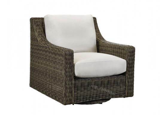 Lane Venture Oasis Resin Wicker Swivel Glider Chair -  ASH