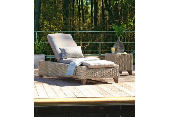 Lane Venture Requisite Resin Adjustable Chaise Lounge - BONE