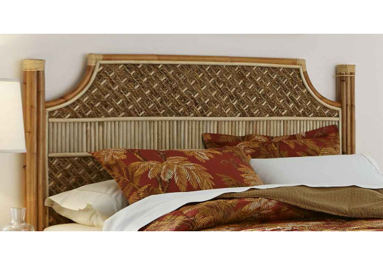 Nassau King Size Headboard - NATURAL