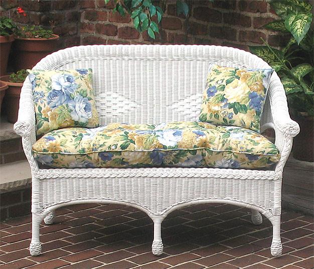 Indoor Outdoor Replacement Loveseat Cushion, Loveseat Cushion Outdoor