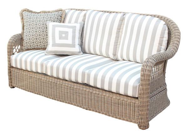 Weather Resin Wicker Outdoor Sofa, Resin Wicker Outdoor Furniture