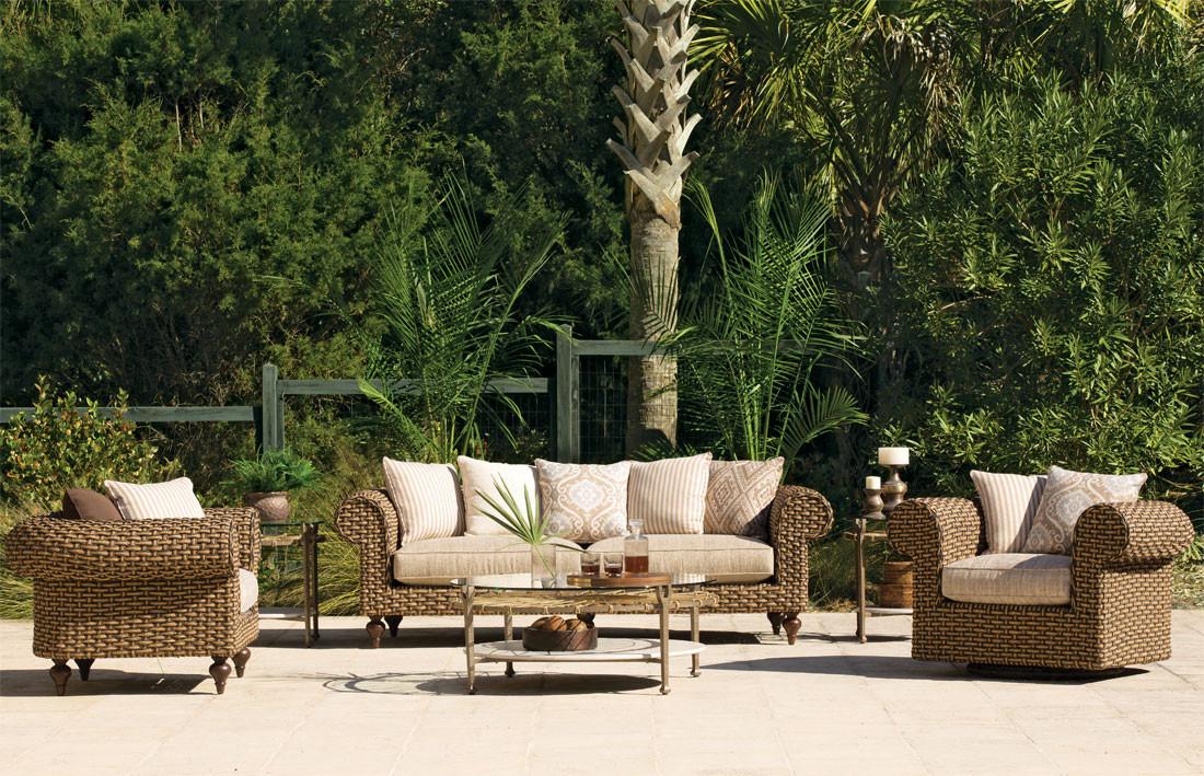 Piece Resin Wicker Furniture Set, Lane Venture Outdoor Furniture