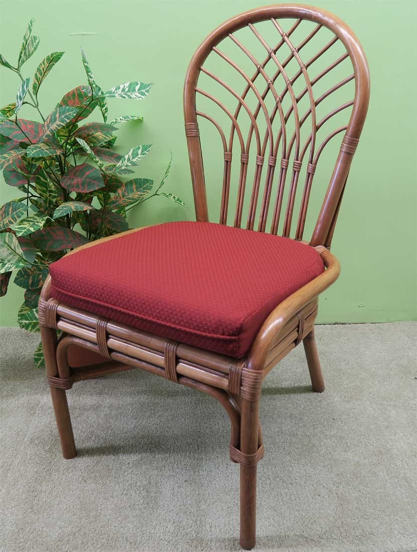 Remarkable Savannah Rattan Dining Side Chair Short Links Chair Design For Home Short Linksinfo