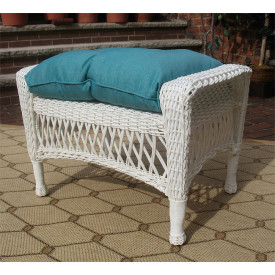 All White Resin Wicker Outdoor Furniture