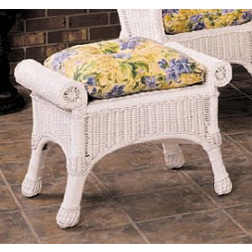 Indoor/Outdoor Replacement Ottoman Cushion (Popular Size)